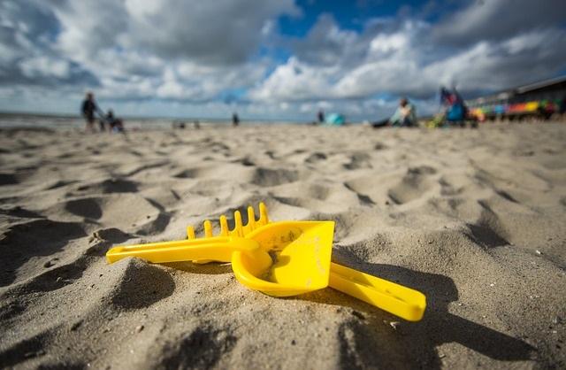 Plaża i zabawki